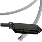 Telco Riser Cable - CMR - 50-Pin - Male/Blunt - Cat3 - USA