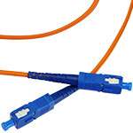 SC/SC Multi-Mode Simplex Fiber Cable - OM2 - 3mm