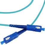 SC/SC Multi-Mode Simplex Fiber Cable - OM3 - 2mm