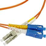 LC/SC Multi-Mode Duplex Fiber Cable - OM2 - 2mm