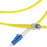 LC/ST Single-Mode Simplex Fiber Cable - OS2, 3mm