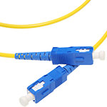 SC/SC Single-Mode Simplex Fiber Cable - OS2, 3mm