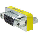 DB15HD Coupler, Female/Female, Mini