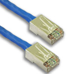 Cat6A Patch Cable - DataMax - CMR - Shielded - Spline - No Boots - USA