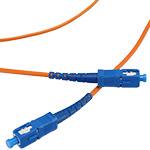 SC/SC Multi-Mode Simplex Fiber Cable - OM1 - 3mm