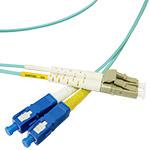 LC/SC Multi-Mode Duplex Fiber Cable - OM4 - 2mm