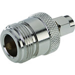 SMA Adapter - SMA Male/N Female - Straight - Nickel