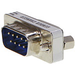 DB9 Coupler, Male/Female, Mini