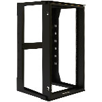 19U Hinged Wall Mount Rack