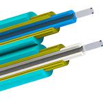 Bulk Fiber MultiMode/Dx, OM4, 50/125, 2mm, OFNR, AQUA - Per Foot